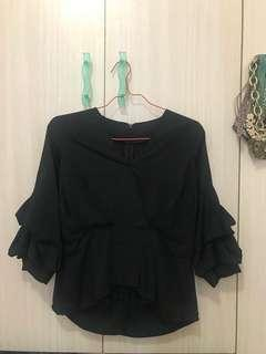 Black Glamour Top