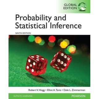 🚚 BR2201 Probability and Statistical Inference 9th global ed