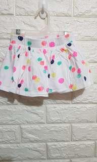 Baby polka skirt (6-12M)
