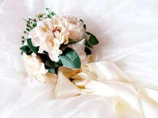 花球🌼💕珍珠絲帶🎀結婚用
