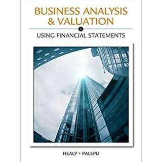 🚚 AC3103 Business Analysis and Valuation 5th ed 3rd / 4th IFRS ed 2nd Asia pacific Ed