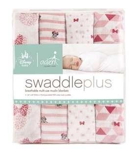 Aden by Aden and Anais Minnie Mouse Disney Baby Swaddleplus