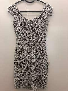 For petite girls! Pre-loved H&M: Divided Printed dress