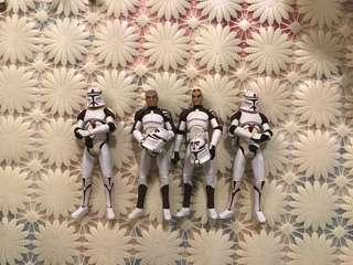 Clone wars best trooper team red commander captain