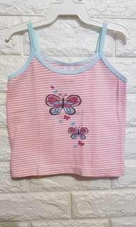 Baby butterfly stripes sando (6-9M)