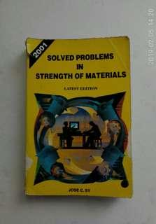Solved Problems in Strength of Materials 2001