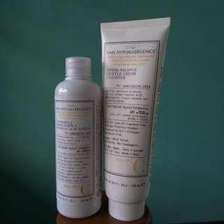 VMV Cleanser and Toner for Combination Skin