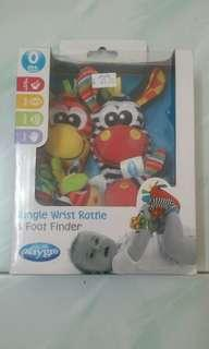 Jungle Wrist Rattle & Foot Finder