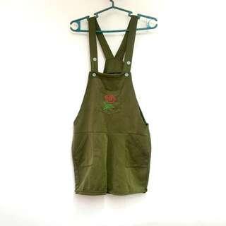 Jumper Short Army Green