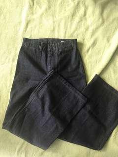Uniqlo wide jeans