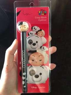 Cathy Doll Tsum Tsum Crazy Black Eyeliner