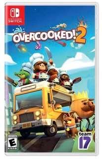 Switch Overcook 2 二手 有盒