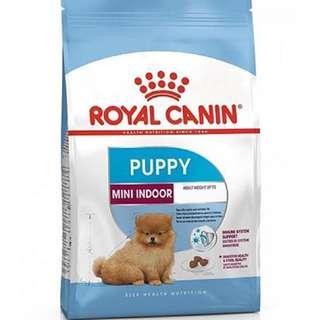 Royal Canin Mini Indoor Puppy Dog Food 3kg