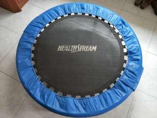 Fitness Jumping Trampoline by HealthStream