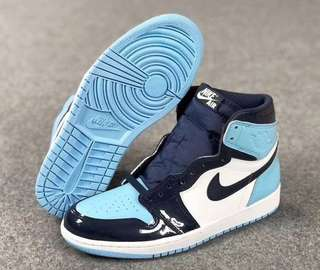 beecc56e6fb83e Nike Air Jordan 1 Retro High OG UNC Padded Leather 2019