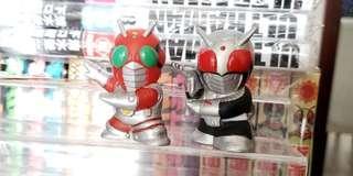 BANDAI 幪面超人 手指頭 兩款 Super 1 ZX 一對 (非舊版俱樂部 Popy)