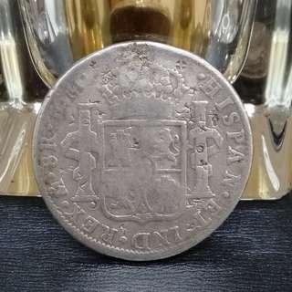SILVER COIN HISPAN  THN 1798