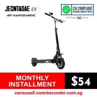 Jeontadae Ex 48V 15.6Ah (50-60Km)Electric Scooter