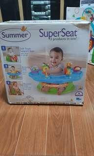 SuperSeat Support + Activity + Booster Seat
