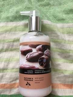 Marks and Spencer Cocoa Butter Hand & Body Lotion