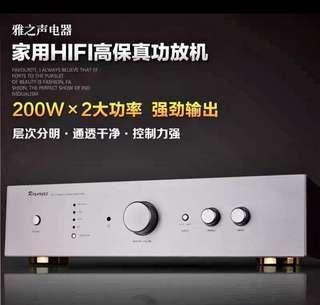 近乎全新 雅之聲 2018新款,國產 200w 大功率合拼擴音機