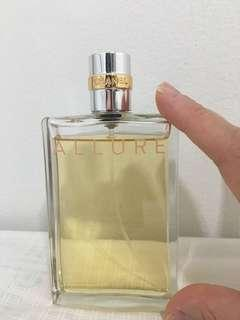 Authentic Chanel Allure perfume 100ml