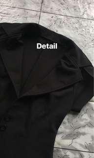Blezer Hitam & Cardigan Batik (Harga satuan)