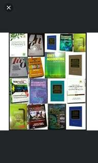 Accounting Books and Law Books