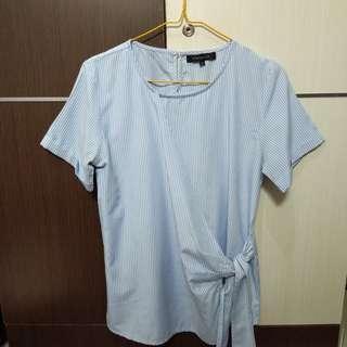 Connexion Stripes blue blouse