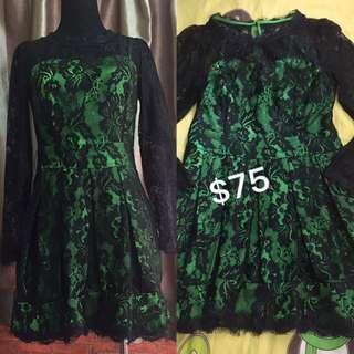 Dress/lace / S