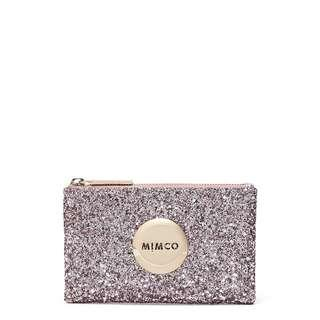 Mimco Small Sparks Pouch Mauve