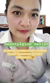 Beauty and glow facial whitening