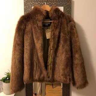 Vera Moda faux fur jacket