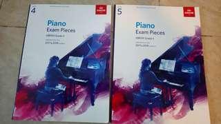 Abrsm 4 & 5 piano