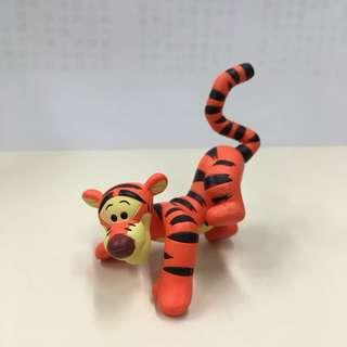 Disney Winnie the Pooh Tigger capsule figure 跳跳虎 扭蛋 擺設