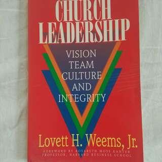 Leadership Business book