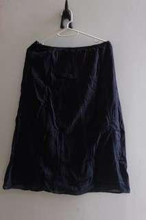 Dress Uniqlo A-line Katun