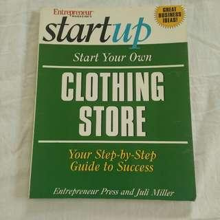 Clothing business book