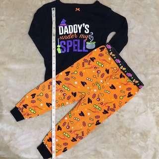 Carter's Halloween Pajamas Top Bottoms