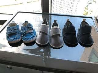 3 mo. - 6 mo. Boy Shoe Bundle