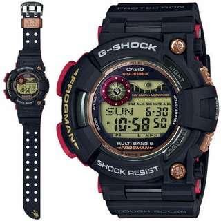 Brand New Original CASIO G-SHOCK Magma Ocean Frogman GWF-1035F-1DR