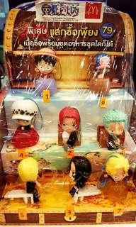 Portable mobile stand One Piece Luffy Mcdonald Thailand
