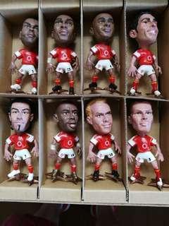 Arsenal Invincible Season Figurines