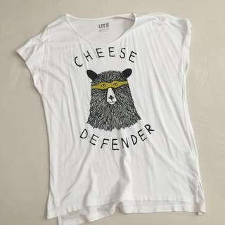 💛 UNIQLO Cheese Defender Shirt 💛
