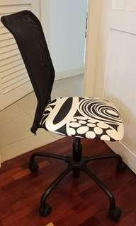 IKEA Office Chair Black and White