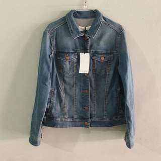Jacket Woman Denim Mango