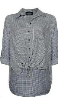 Gingham shirt sz10-12