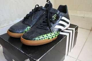 Adidas Predator Black-Green Original (Tanpa Box)
