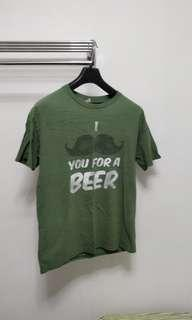 🚚 T shirt i moustache you for a beer