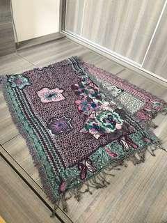 民族頸巾(紫色)